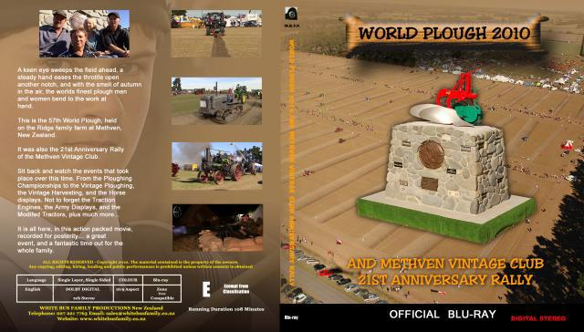 WORLD PLOUGH 2010 BLU RAY