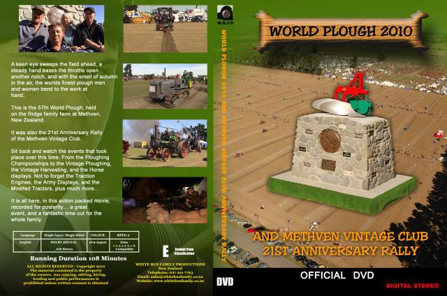 WORLD PLOUGH 2010 DVD SLICK